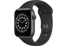 Apple Watch Series 6 44 mm Aluminium Black